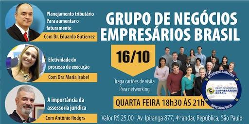16-10 Reunião do grupo de negócios- Empresários Brasil