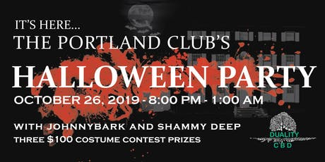 The Portland Club's Halloween Party! tickets