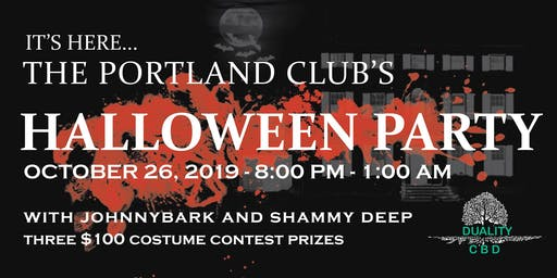 The Portland Club's Halloween Party!