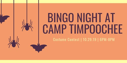 Halloween Bingo Night at Camp Timpoochee