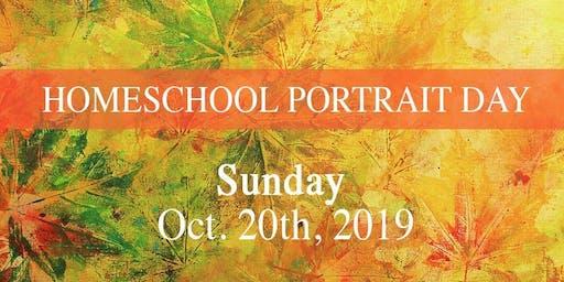 Homeschool Portrait Day