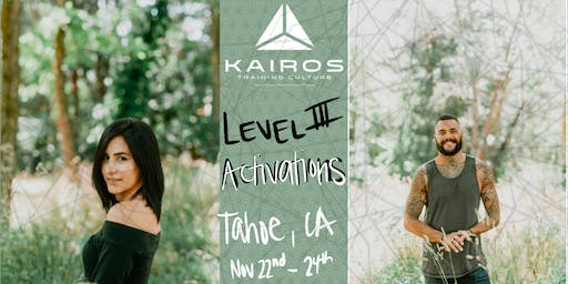 Kairos Training Culture - Level 3 Training Camp - ACTIVATIONS