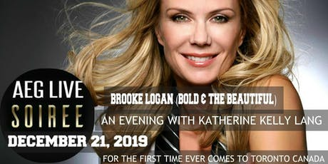 AEG LIVE SOIREE AN EVENING WITH BOLD & THE BEAUTIFUL KATHERINE KELLY LANG tickets