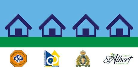 Neighbourhood Crime Prevention tickets