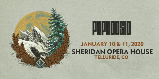 TWO NIGHT PASS | Jan 10th & 11th | Sheridan Opera House | Telluride, CO