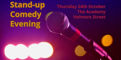 Comedy Night at The Academy (Helmore Street)