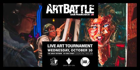 Art Battle San Francisco - October 30, 2019 tickets