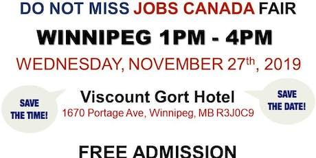 Winnipeg Job Fair – November 27th, 2019 tickets