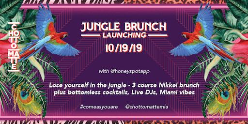 Jungle Brunch Launch with @Honeyspot
