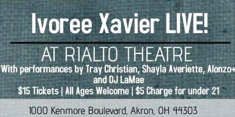 Ivoree Xavier LIVE!