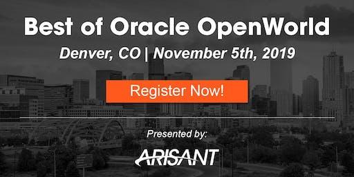 Best of Oracle OpenWorld: Denver