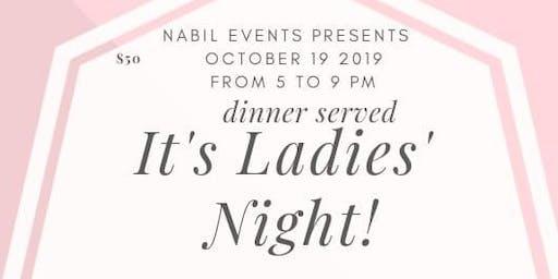 Ladies night gala