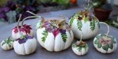 Botanical Pumpkin Workshop by J O'Blooms