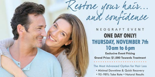CONGRESSIONAL PLASTIC SURGERY NeoGraft Event **EXCLUSIVE PRICING**