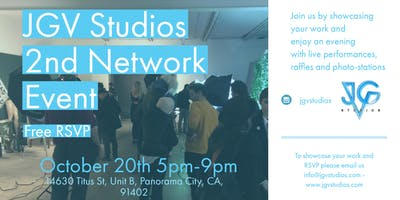 JGV Studios 2nd Film and Photography network event