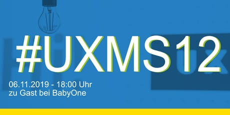 UXMS Meetup - #UXMS12 Tickets