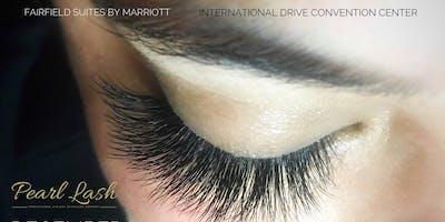Volume Eyelash Extension Training by Pearl Lash Orlando February 17, 2020
