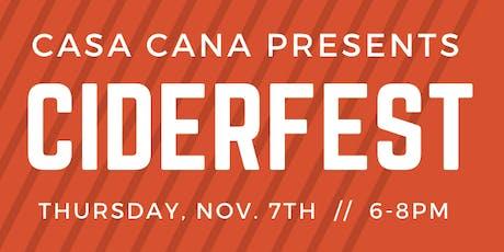 CiderFest @ Casa Cana tickets