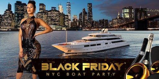 NYC #1 Black Friday Thanksgiving Boat Party Yacht Cruise Around Manhattan