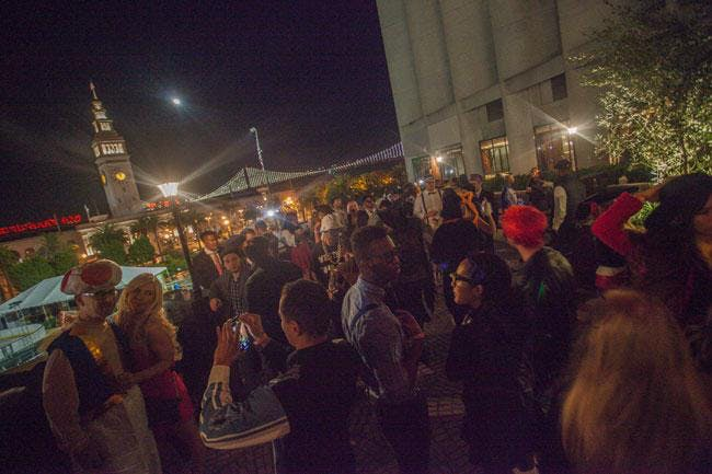 Sens Rooftop Halloween Party 2020 Haunted House on the Embarcadero   Rooftop Event | San Francisco