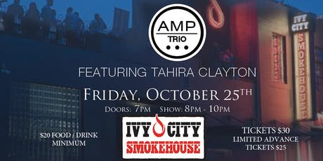 An Evening of Jazz & Soul with AMP Trio featuring Tahira Clayton Live! tickets