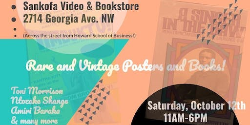 Special Howard Homecoming Rare and Vintage Items Sale @ Sankofa