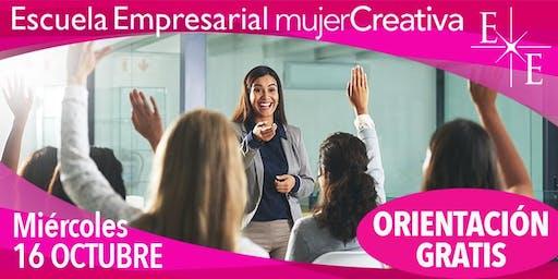 ORIENTACIÓN GRATIS - Escuela Empresarial Mujer Creativa