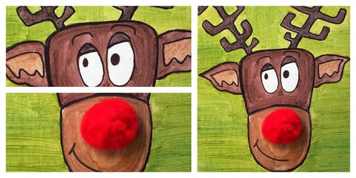Christmasville - 1pm Grandparent & Child Rudolph Workshop (3-12 Years)