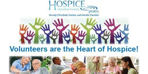 Hospice Volunteer Training Class