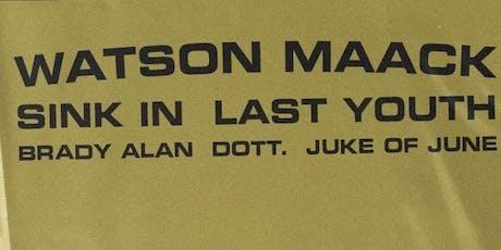 Watson Maack tickets