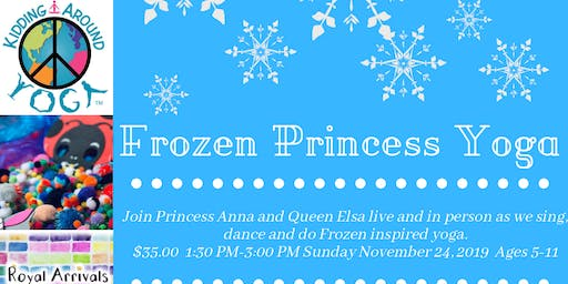 Frozen Princess Yoga