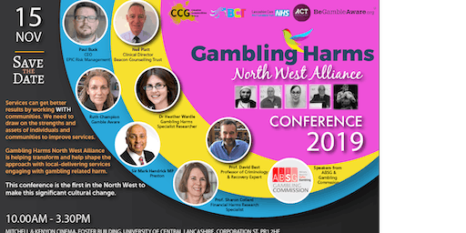 Gambling Harms North West Alliance Conference 2019