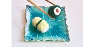 Needle Felting 101 with Kira Dulaney - Absolute Beginner Fiber Arts Class, Ages 8+ (2019-11-23 starts at 2:00 PM)