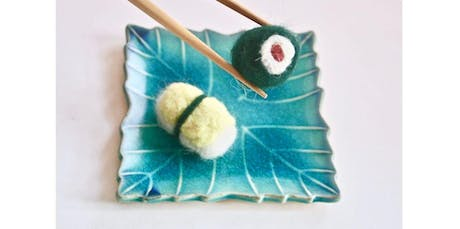 Needle Felting 101 with Kira Dulaney - Absolute Beginner Fiber Arts Class, Ages 8+ (2019-11-23 starts at 2:00 PM) tickets