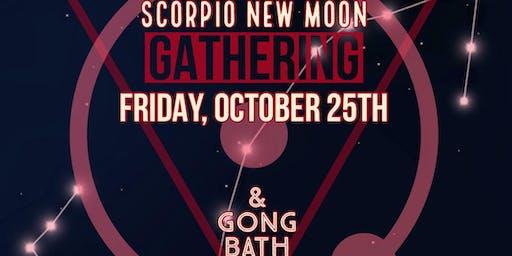New Moon In Scorpio Gathering