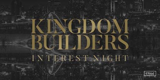 Kingdom Builder Interest Night