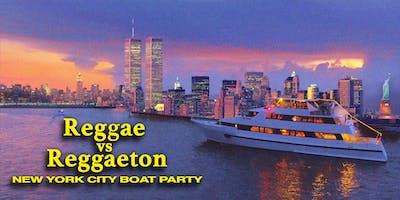Reggae vs Reggaeton Boat Party NYC Yacht Cruise on MEGA YACHT INFINITY