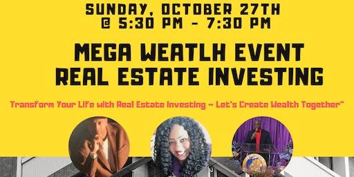Mega Real Estate Investing Wealth Creation Event