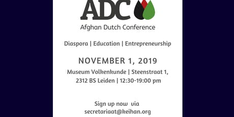 Afghan Dutch Conference tickets