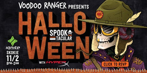 Voodoo Ranger Halloween Spooktacular