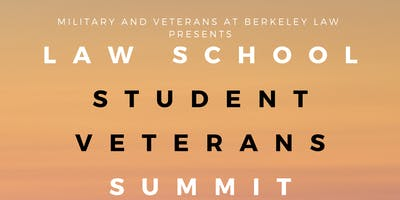 Law School Student Veterans Summit