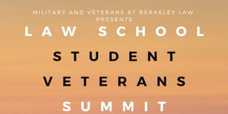 Law School Student Veterans Summit tickets
