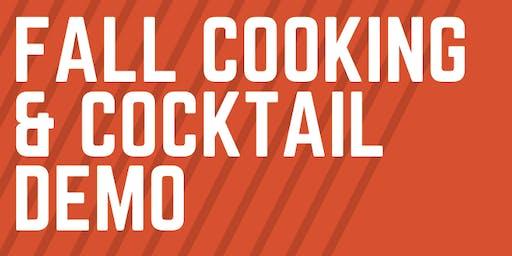 Fall Cooking & Cocktail Demo @ Casa Caña!