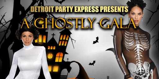Detroit Party Express Presents a Ghostly Gala