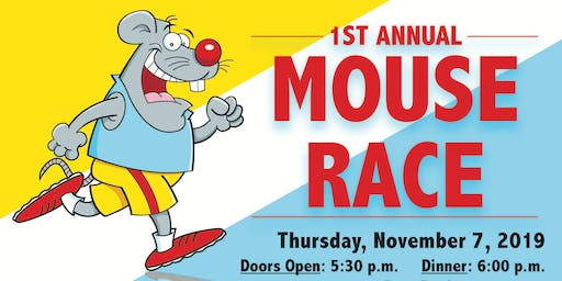1st Annual Mouse Race Fundraiser