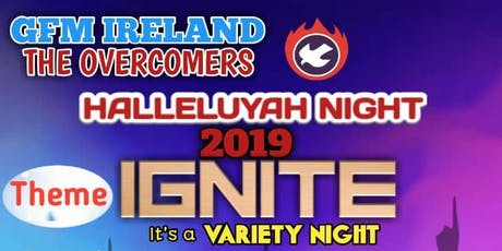 Halleluyah Night tickets