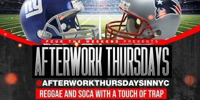 Thursday Night Football / Afterwork Thursday Happy Hour (Free Entry)