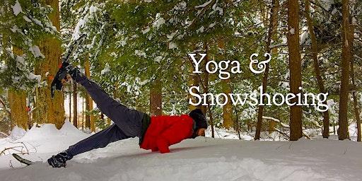 Yoga & Snowshoeing