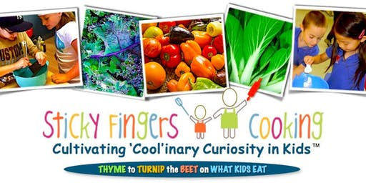 Tween Thanksgiving Cooking Class with Sticky Fingers (ages 8-12) (preregistration)