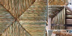 Paper Fibre or Cattail Seat Weaving with Cathryn Peters
